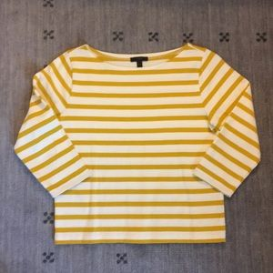 J Crew 3/4 Sleeve Top T Shirt